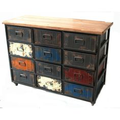 Found it at Wayfair - Paintbox Large 12 Drawer Chest