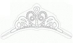 Princesa Sofía: Molde de su Tiara.