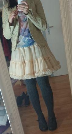 Outfit American Apparell Petticoat und Pastellfarben  Lucciola: Beauty, Fashion, Literatur und Inspirationen