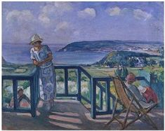 Across the Bay Henri Lebasque -  Date unknown oil on canvas