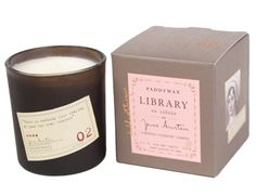 Library Collection - Candles that complement the author's style! @melee