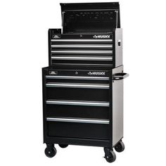 Husky 27 in. 8-Drawer Tool Chest and Cabinet Set-H4CH1R H4TR1R - The Home Depot