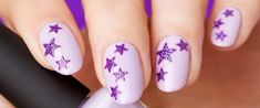 Let's discuss purple nails designs. Why are we so obsessed with this fascinating shade? Maybe
