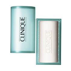 Acne Solutions Cleansing Bar for Face and Body - personal favorite because antibacterial so does not spread acne around, gets rid of it and is soft on the skin. Also available in a foaming pump but this lasts longer - about 4 months.