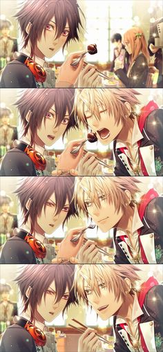 Amnesia - Toma stop being adorable! X3