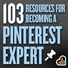 Multiple articles on social media tools. 103 Resources for becoming a Pinterest Expert contains a collection of links to resources. http://blog.kissmetrics.com/