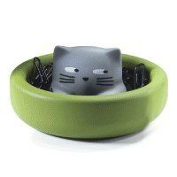 Magnetic Cat Paper Clip Holder Is A Whimsical Gift