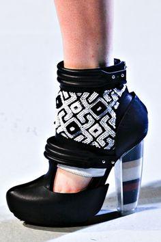 Rodarte - heels filled with sand