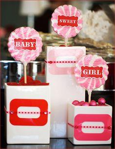 sweet baby girl - baby shower