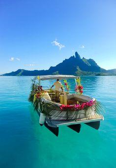 Bora Bora -Society Islands of French Polynesia