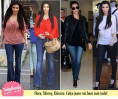 Guia de Saúde: Look para o trabalho, dica com Kimberly Kardashian.