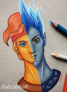 This artist's two-faced Disney portraits are giving us a whole new outlook on our favorite characters