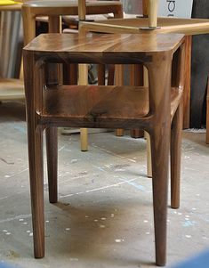 Maloof-inspired Walnut Table