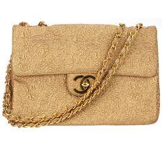 Vintage Gold Chanel Bag