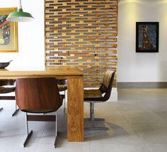 Wood Modern Wall Divider, DIY, MidCentury