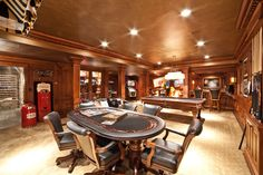 Staggering Man Cave Accessories Decorating Ideas Gallery in Basement Traditional design ideas
