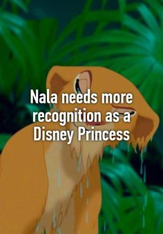 Nala needs more recognition as a Disney Princess
