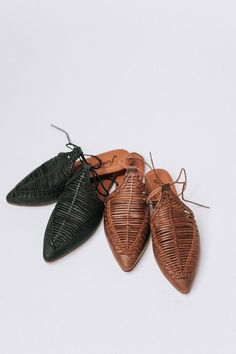 Details: Pointed toe flats with interwoven detailing on top of foot. Wrap around ankle strap and padded footbed. Color: Black stacked heel Padded insole Fits true to size Winter Shoes, Summer Shoes, Shoes 2018, Best Running Shoes, Mules Shoes, Women's Sandals, Pointed Toe Flats, New Shoes, Women's Shoes