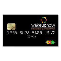 wake up now business cards - wakeupnow cards