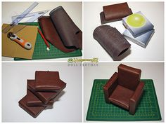 How I made my first doll furniture by Hegemony77 doll clothes, via Flickr