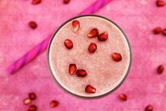 Paleo Pomegranate Smoothie