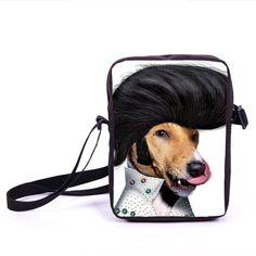 Rock Band ACDC Mini Messenger Bag AC/DC Bob Marley Crossbody Bag Young Men Women Punk Daily Bags Boys Girls School Bags Bookbag