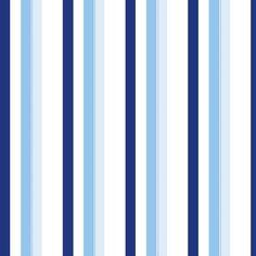 Papel de Parede Listras em Tons de Azul