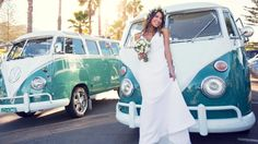 Iconic Kombi vans being used as wedding vehicles for bridal parties as part of rising trend | DailyTelegraph
