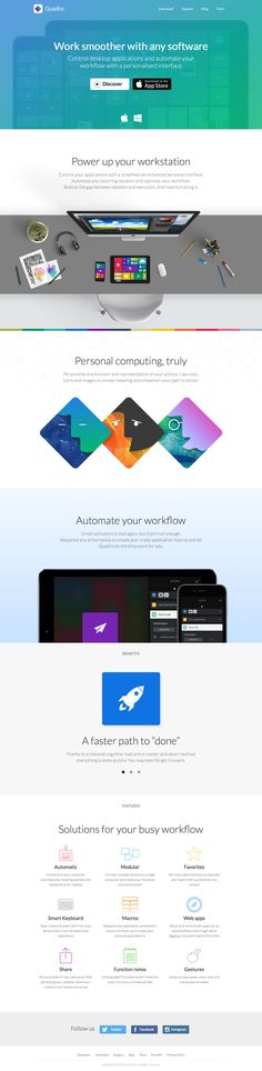 Quadro - Work smoother with any software More