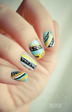Fantastic nail art :)