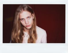 Konan Hanbury at Models 1. Instant Analogue by Cecilie Harris. Special thanks to Impossible.