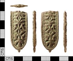 IOW-CF2D07: Early-Medieval (Anglo-Saxon) Strap-end