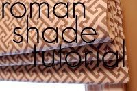 33 Shades of Green - How to make Roman Shades. Very detailed instructions with clear photos.