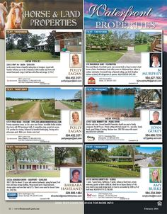 Looking for property for your animals?! Grab your copy of Homes & Land Magazine New Orleans Northshore today and see all the listings on our Horse Properties page!
