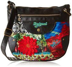 Desigual Women's Brooklyn Amazonas Cross-Body Bag Green Vert (Balneario) One Size: Amazon.co.uk: Shoes & Bags