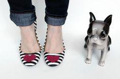 DIY: Heart Shoes
