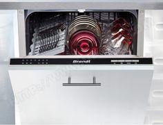 Lave vaisselle tout integrable 45 cm BRANDT VS1010J