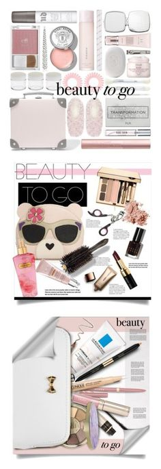 """""""Winners for Beauty on the Go"""" by polyvore ❤ liked on Polyvore featuring beauty, New Look, Muji, Invisibobble, Globe-Trotter, e.l.f., Forever 21, Capelli New York, Too Faced Cosmetics and Tweezerman"""