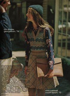 mademoiselle '72 #vintage #1970s #70s #prints