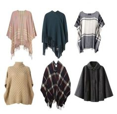 How to wear a poncho and ruana.