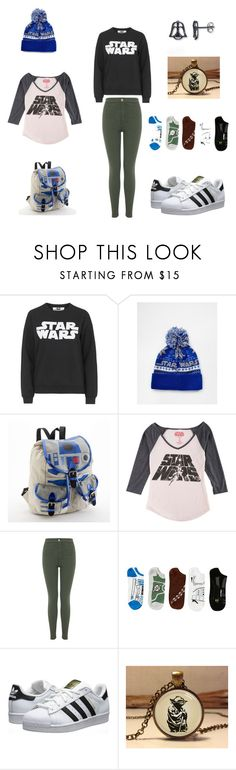 """""""Star wars"""" by avarose-mahoney on Polyvore featuring Tee and Cake, ASOS, Hybrid, Miss Selfridge and adidas Originals"""