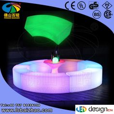 Hot Sales! LED furniture outdoor for restaurant and bar party furniture event furniture $0~$1