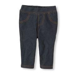 denim leggings - capri length