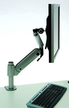 Giselle Monitor Arm - Product Page: http://www.genesys-uk.com/Ergonomic-Products/Monitor-Arms/Giselle-Monitor-Arm.Html Genesys Office Furniture - Home Page: http://www.genesys-uk.com The Giselle Monitor Arm, with post-mounting, combines strength with ease of adjustment.  With the aid of an internal gas strut, the Giselle Monitor Arm provides fingertip control to easily reposition monitors weighing up to 8.5kg.