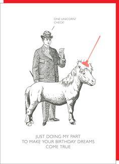 Happy Birthday card humor