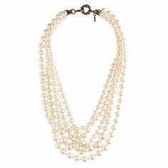 Pearl twisted hammock necklace - necklaces - Women's jewelry - J.Crew