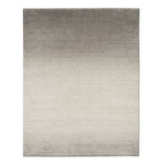 Ombre Shine Wool Rug - Soot | west elm