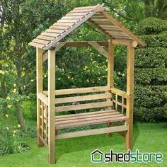Genius and Low Budget Pallet Garden Bench for Your Beautiful Outdoor Space No 49