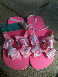 6cf1d5426604b Custom Ballet Flip Flops on Etsy