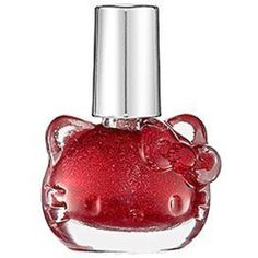 Hello Kitty Liquid Nail Art by Sephora - Red Sparkle Hello Kitty Nail Polish, Hello Kitty Makeup, Hello Kitty Items, Hello Kitty Merchandise, Little Girl Toys, Liquid Nails, Japanese Nail Art, Candy Apple Red, Red Apple
